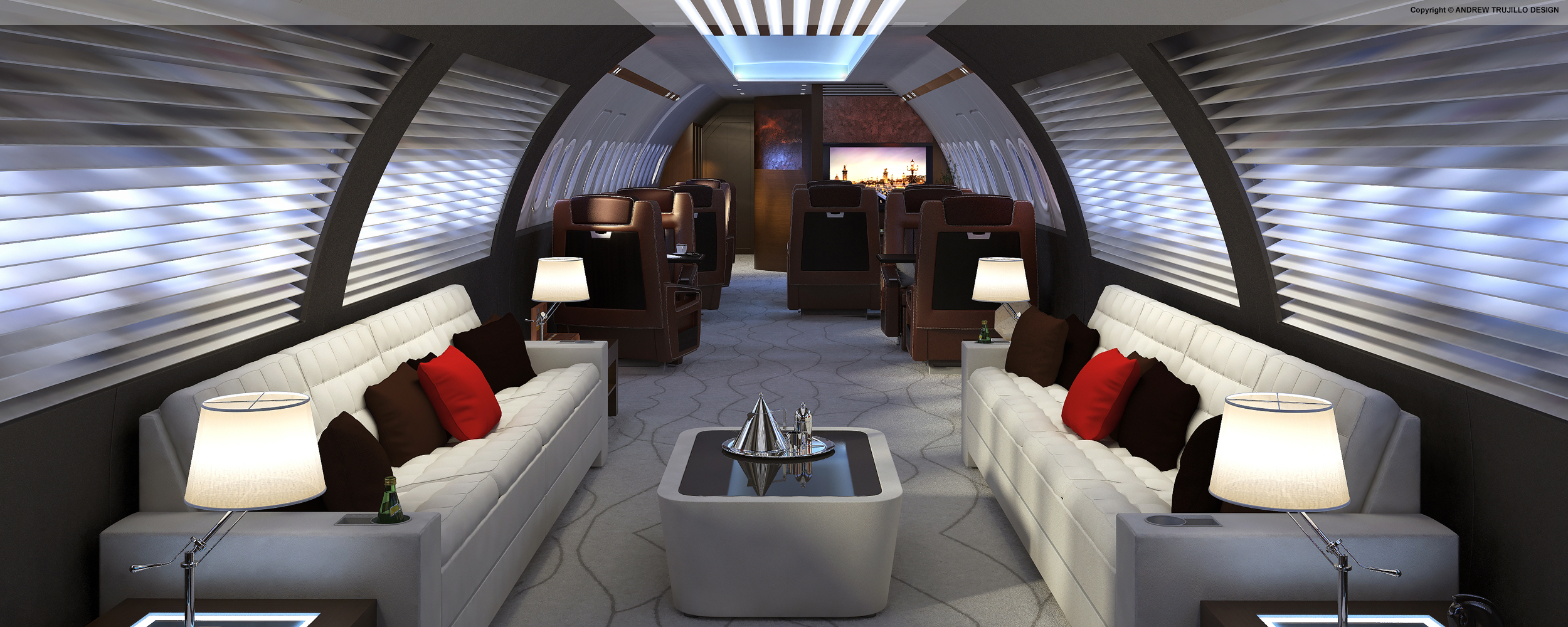 Concept Interior Business Jet
