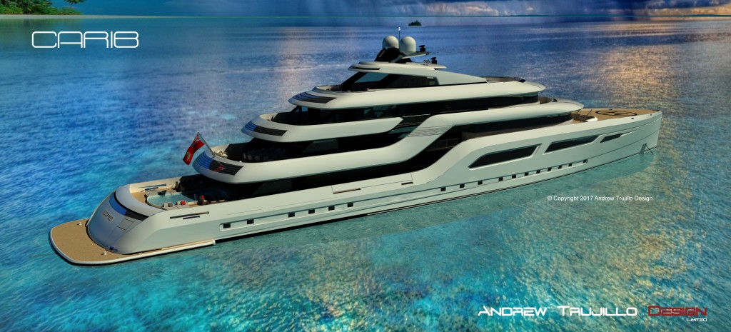 95 Metre Motor Yacht Carib – New visuals